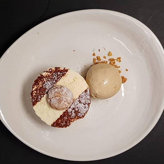 Our chef Matt has been busy making Tiramasu parfait with coffee ice cream....heavenly!! • • • • #tiramasu #dessert #pudding #yummy #sweet #havethedessert #sogood #instafood #foodie #gastropub #aahospitality #gastropubkent