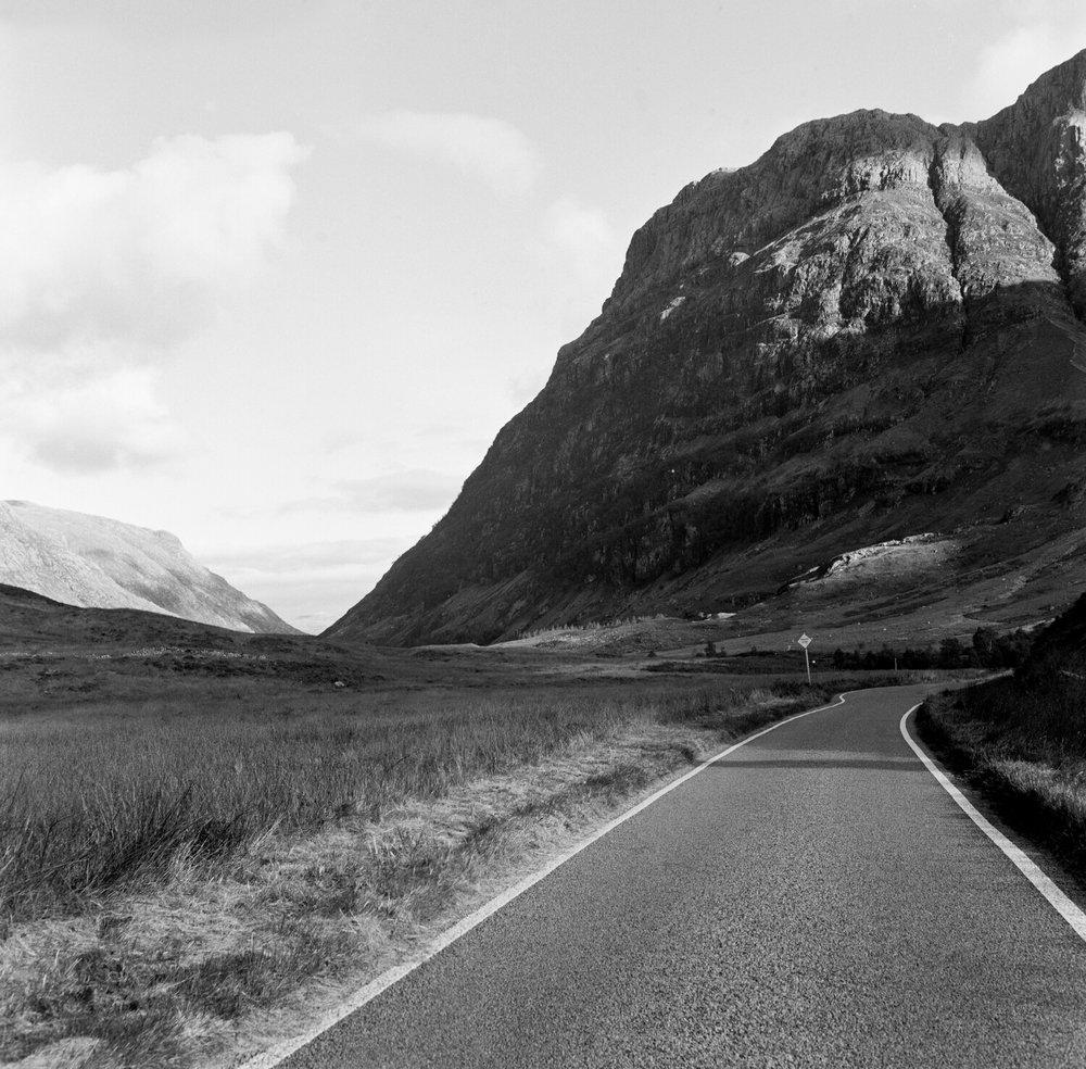 Glencoe Old Road - Kodak T Max 400.