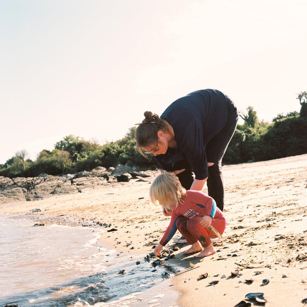 Beach Combers - Kodak Ektar 100