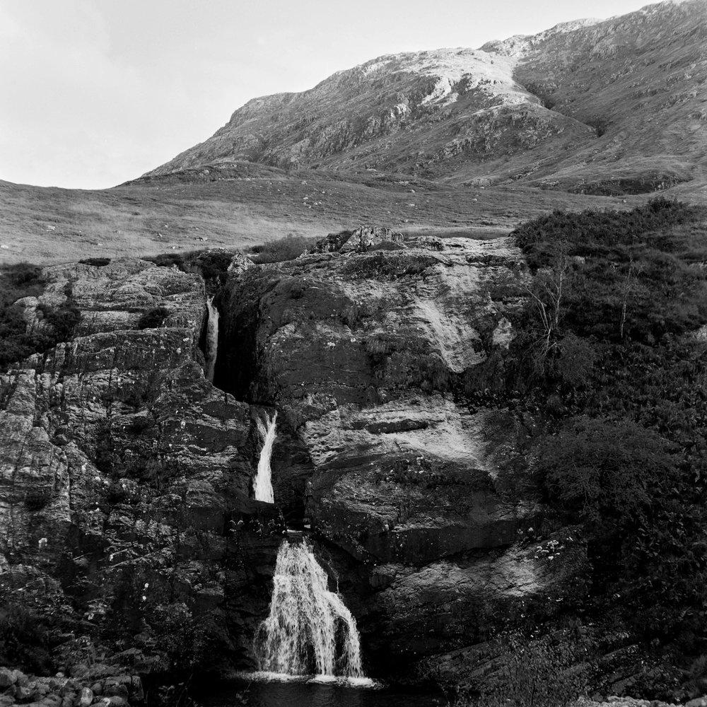 Glencoe falls - Kodak TMax 400