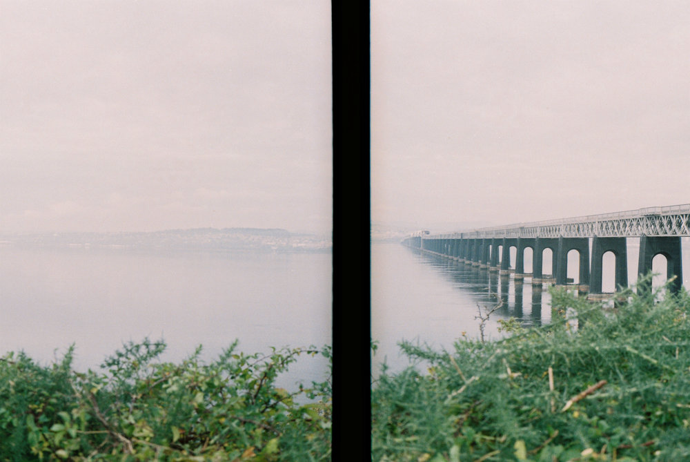 Tay Rail Bridge, shot with Olympus Pen D3