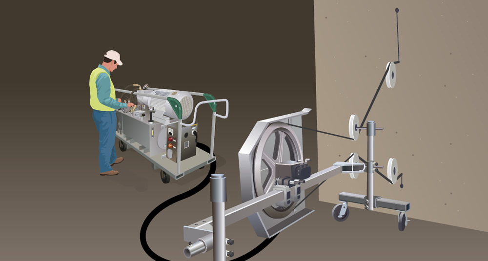 Diamond Wire Concrete & Metal Cutting — Cutting Edge Services