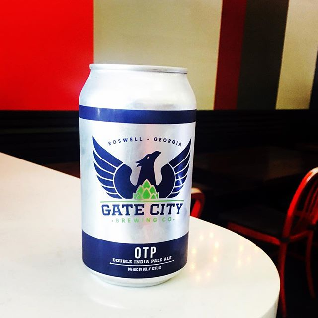 @fixpizzeria we are so excited to announce we are now carrying @gatecitybrewing 8% OTP #doubleipa #localbrewery #roswellga