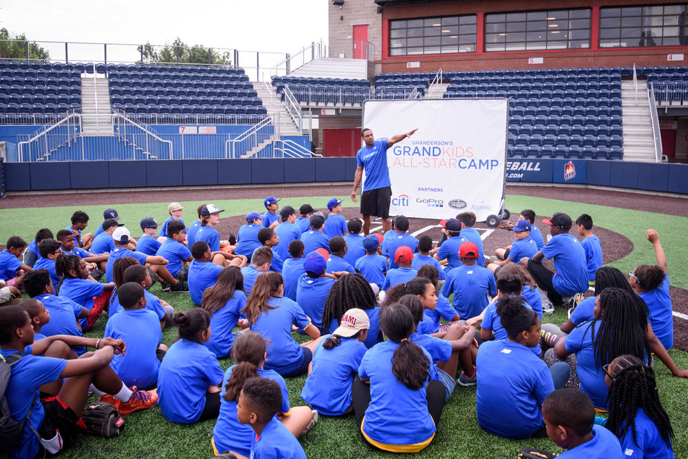 Baseball Camps& Clinics - designed to get kids moving