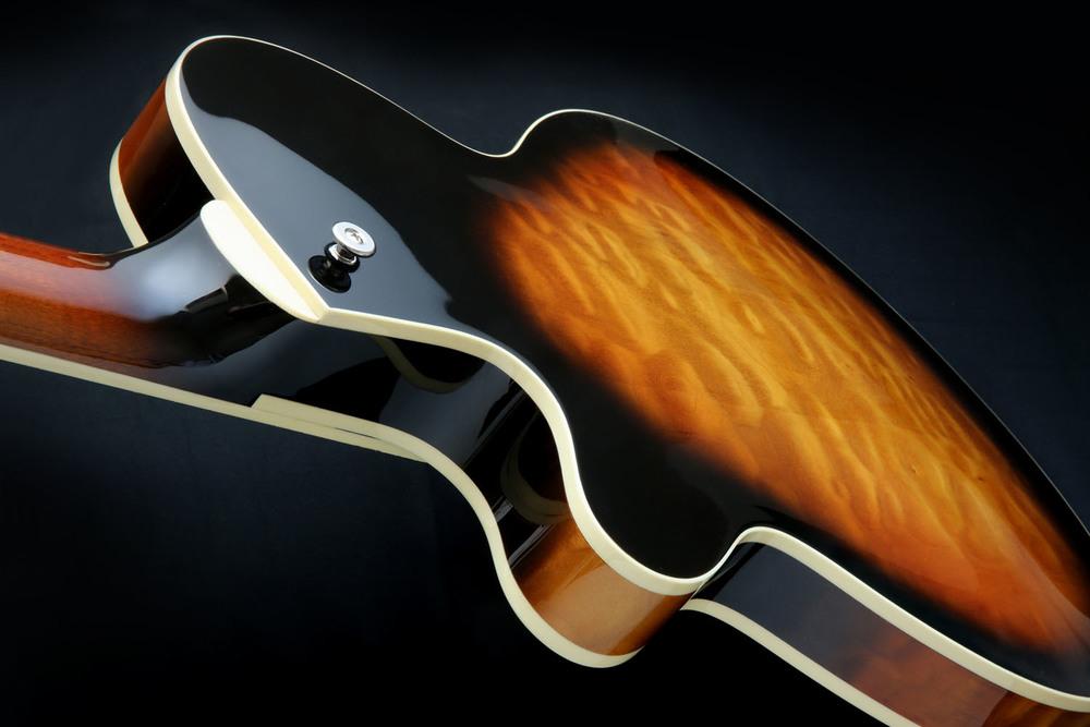 J2 Semi-hollow archtop guitar