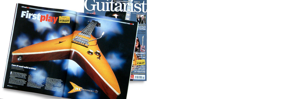 Case JV Guitarist magazine