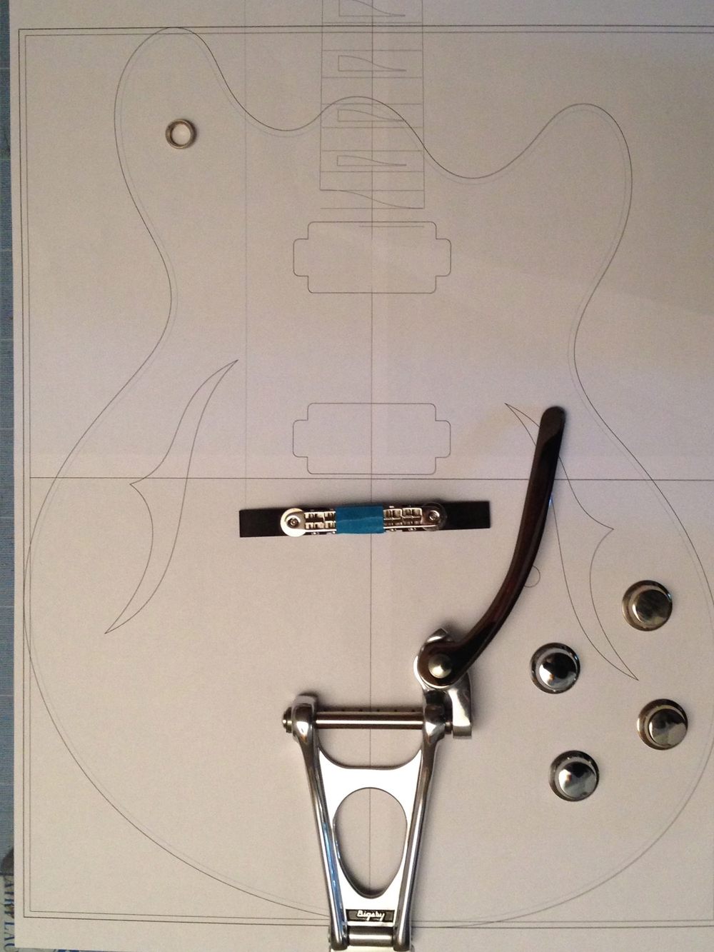 J35 - Layout of controls with Bigsby
