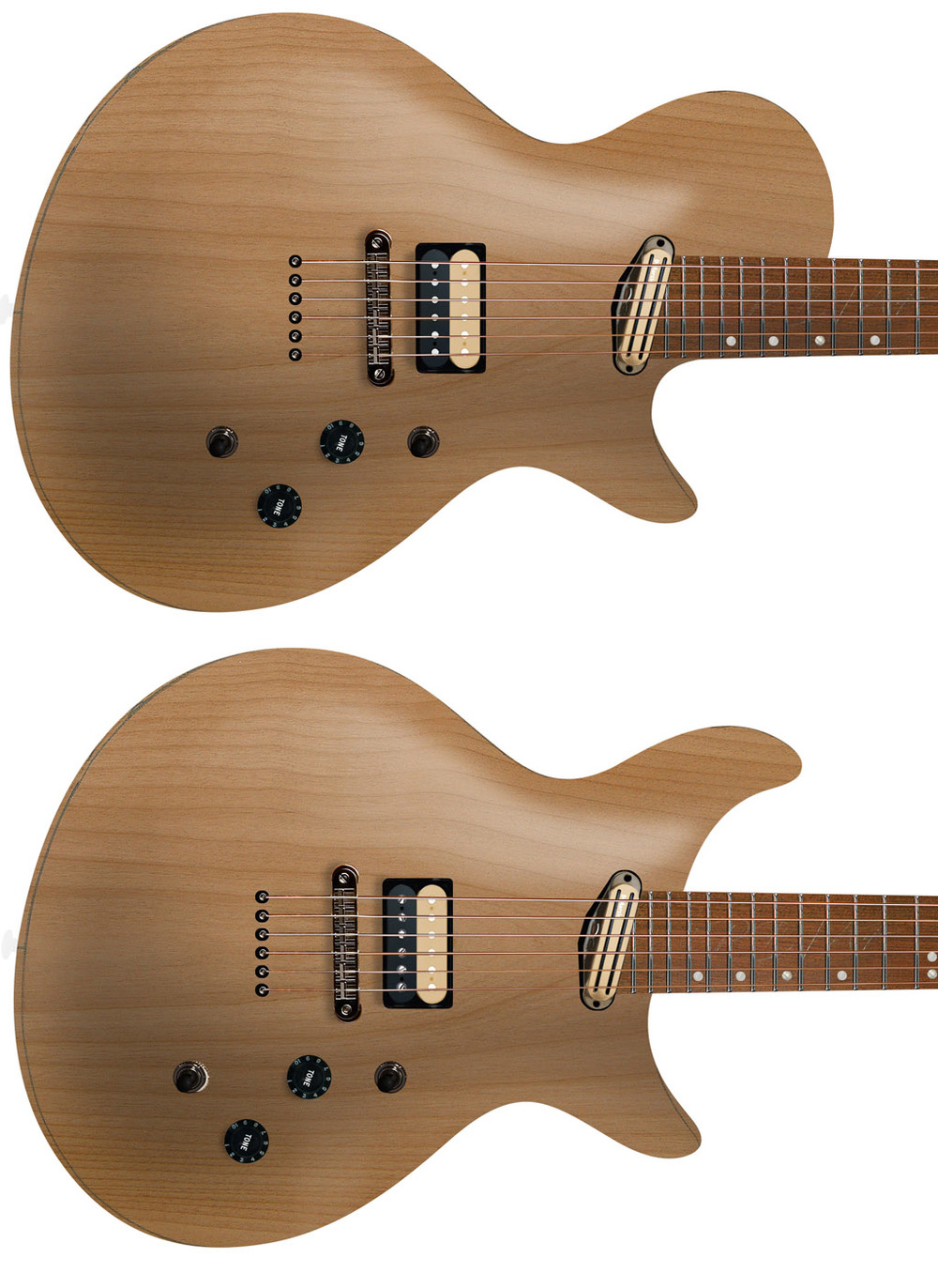 J1 Solid Alder, Single+Double cutaway