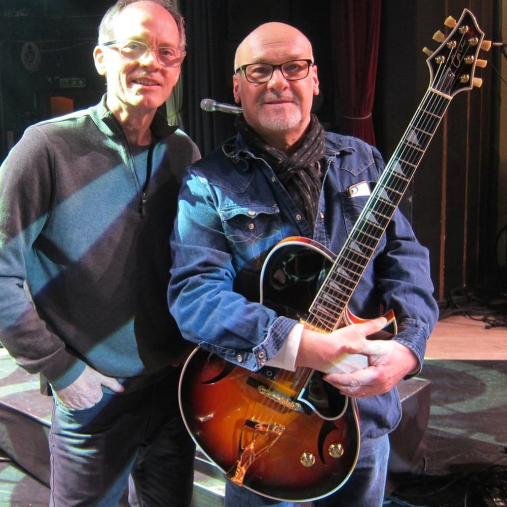 Jon Case with Paul Carrack