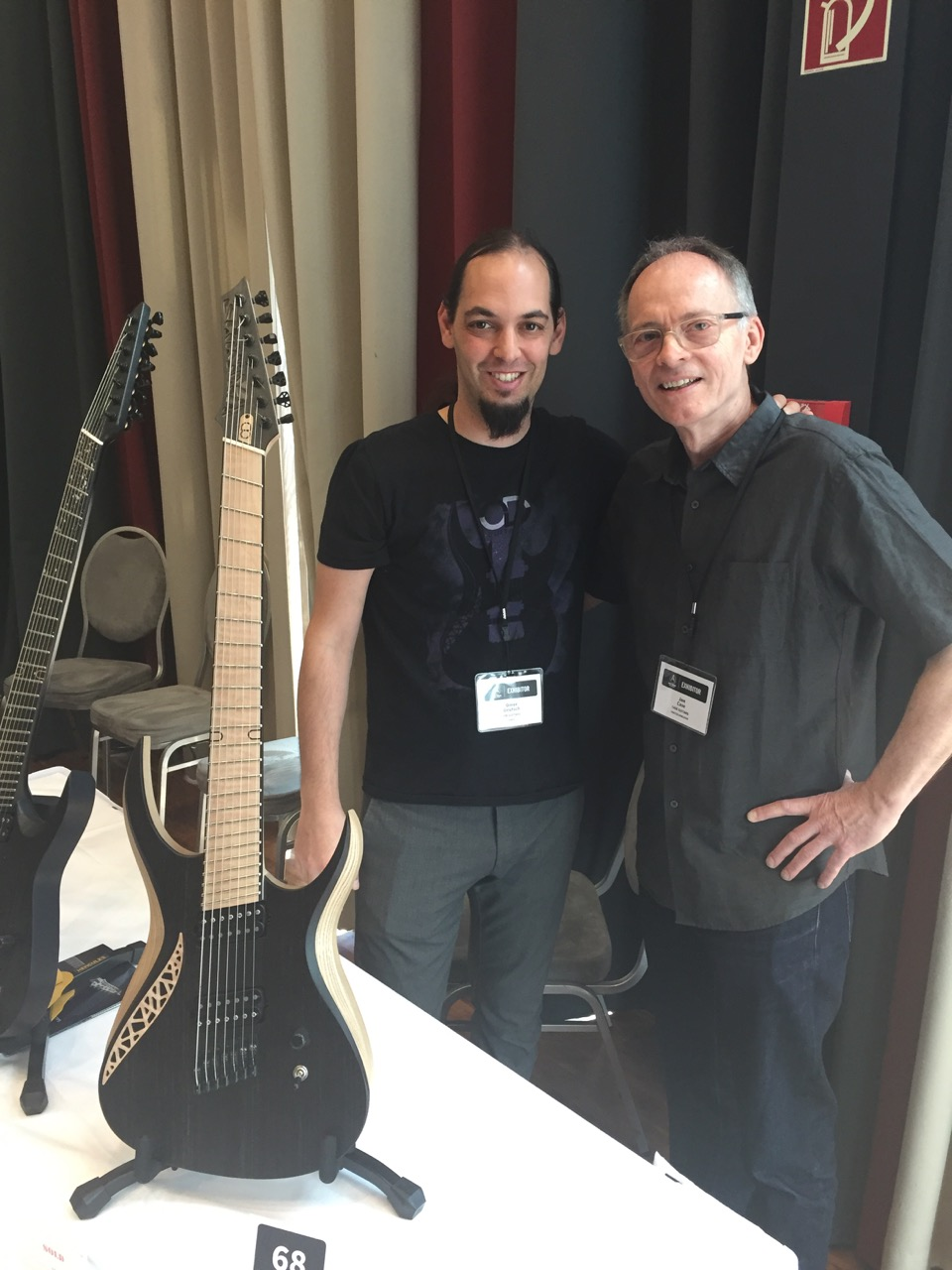 Omer Deutsch of OD Guitars with Jon Case