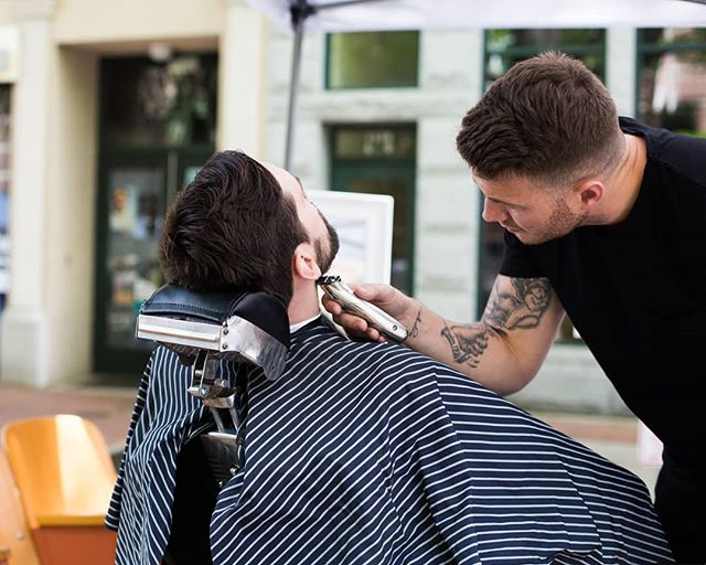 We'll be at Soda City Market from 9am to 1pm tomorrow, offering trims and shaves. See you there, Columbia.