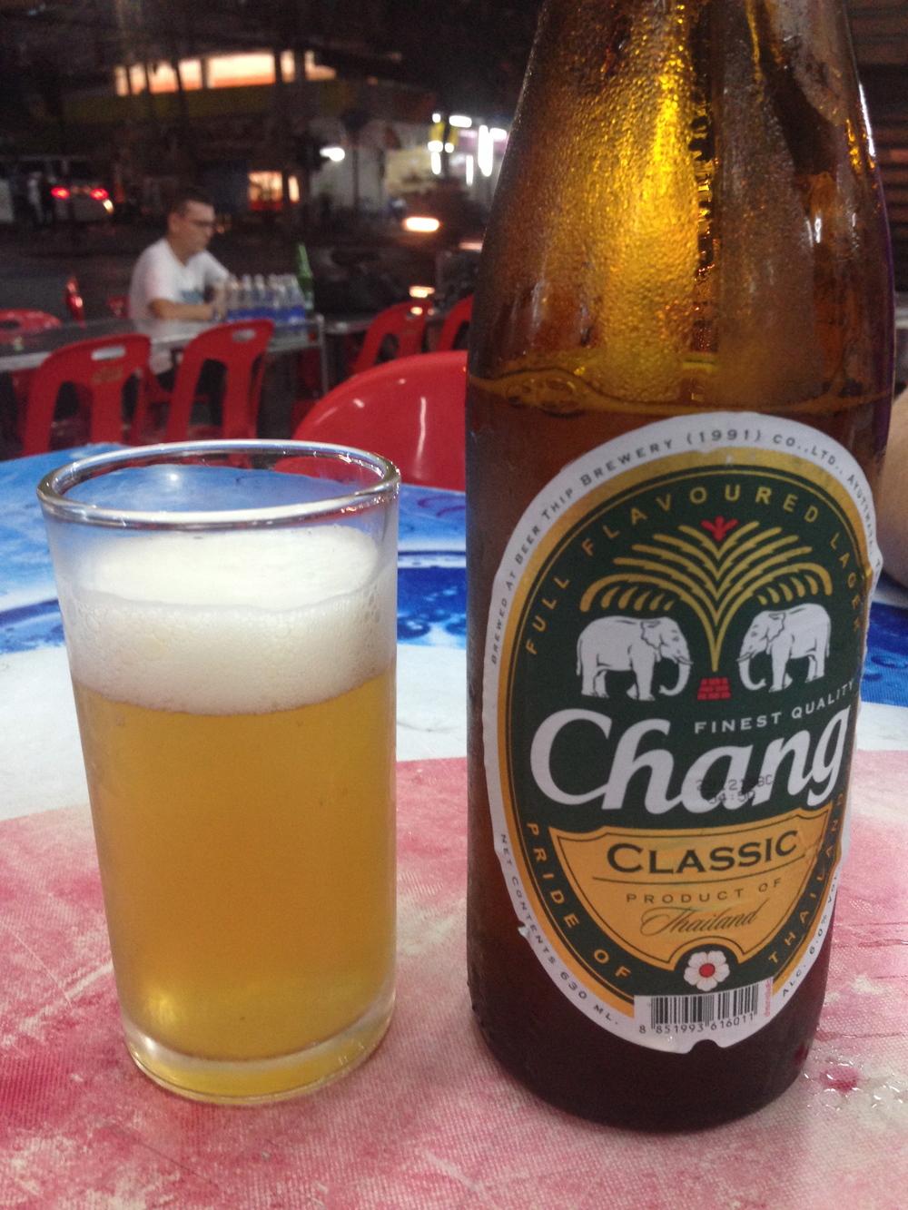 Classic Thai beer
