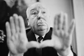 My film idol Alfred Hitchcock