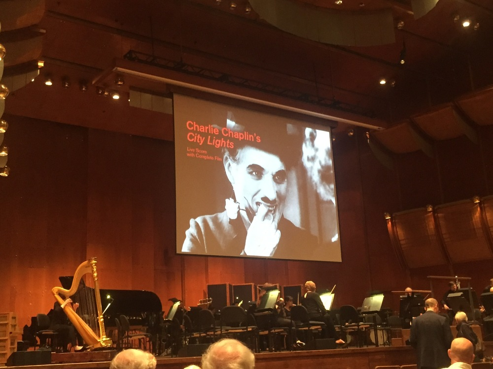 Screen and stage at David Geffen Hall | New York | May 2016