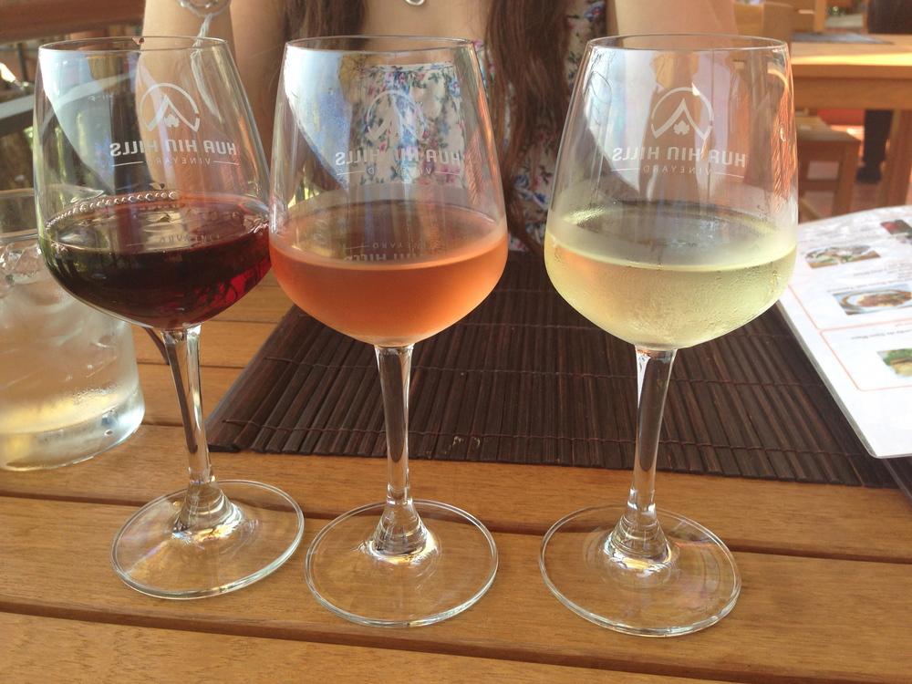 Wine Tasting at Hua Hin Hills | Hua Hin, Thailand | February 2014