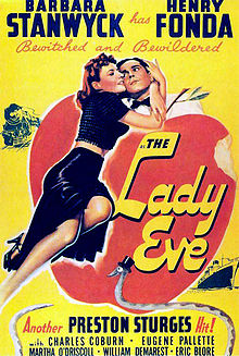 The Lady Eve  (1941) is easily one of the sexiest movies ever made.