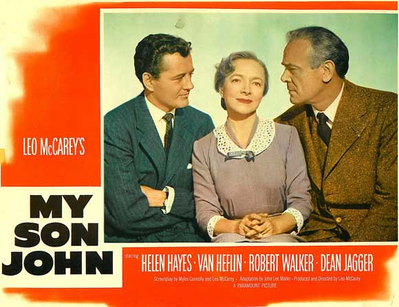 My Son John  (1952) is worth watching for seeing how McCarey started to move into darker territory later in his career.