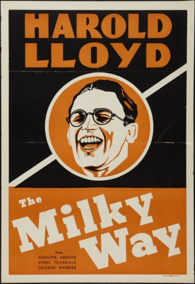 The Milky Way  (1936) is one of Harold Lloyd's best movies. Even though Lloyd had been making movies for years, McCarey was still able to help Lloyd top all of his other movies. Not easy to do.