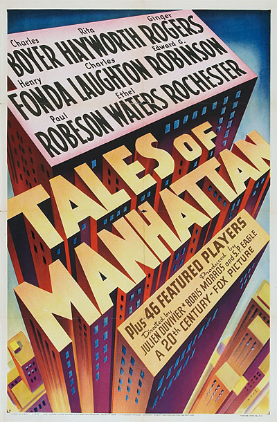 The all-star  Tales of Manhattan  (1942).