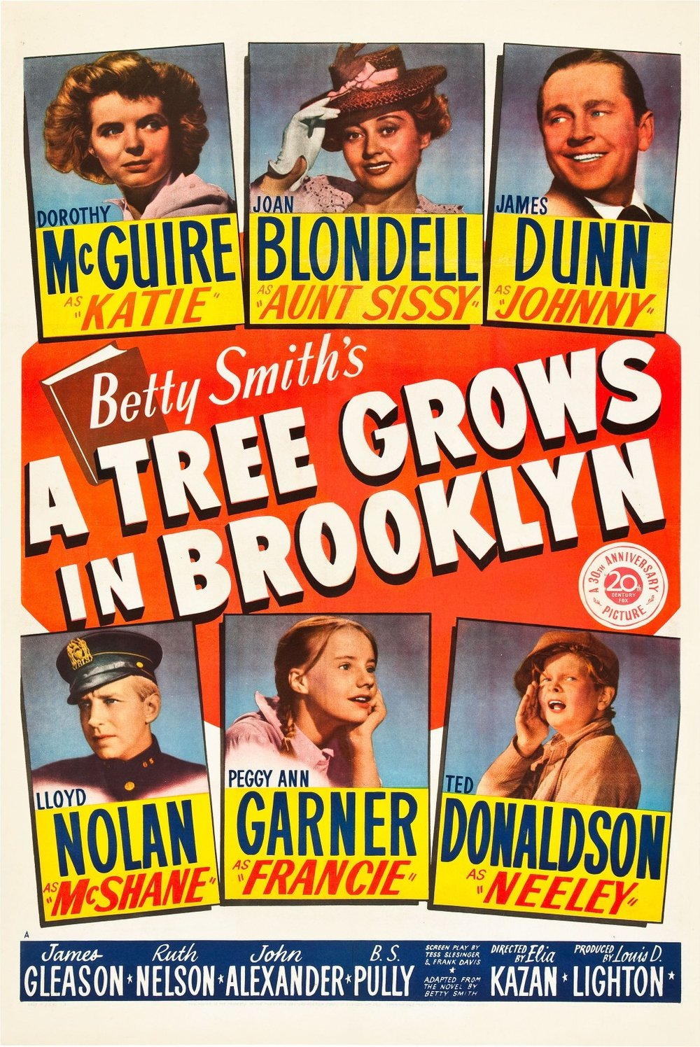 A Tree Grows in Brooklyn  (1945).