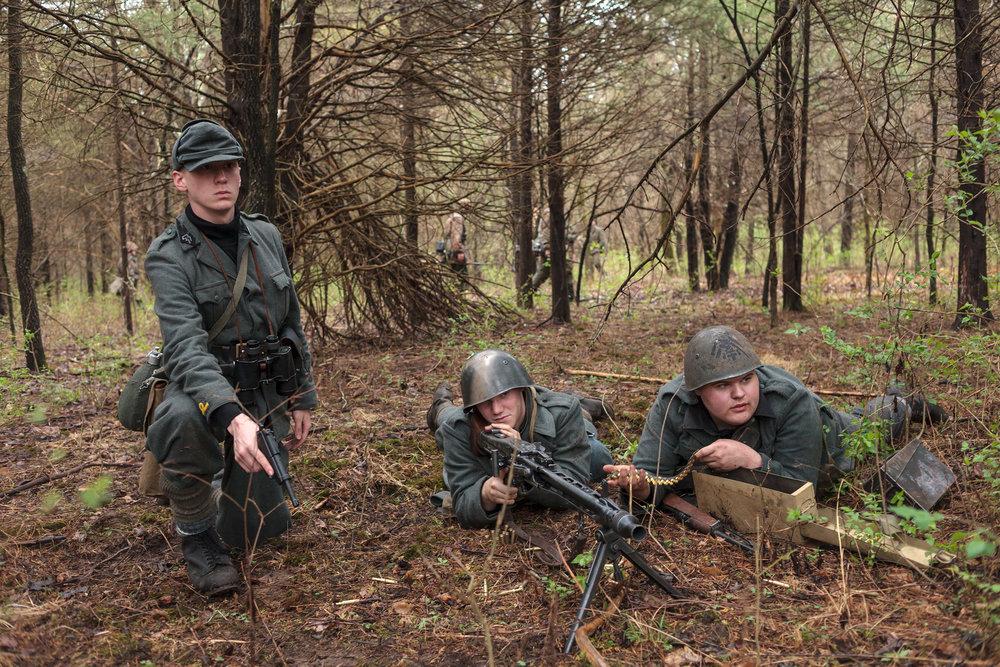 Italian Gun Crew from KC