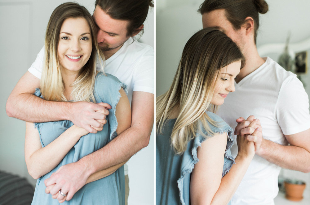 Ian & Sarah At Home Anniversary Session-Birmingham AL-Fine Art Photography