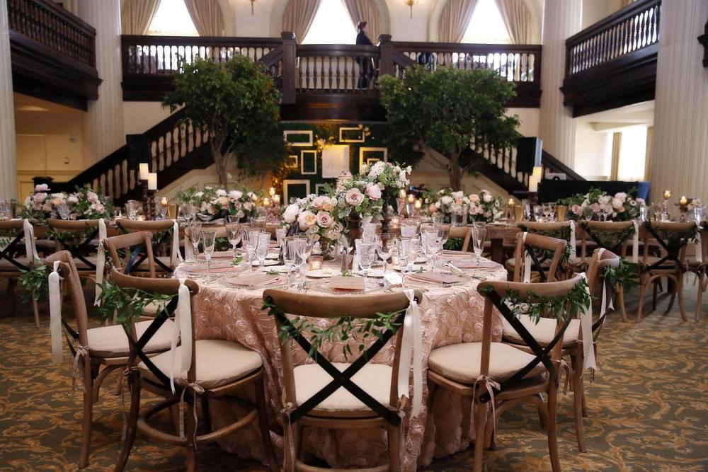 Amway Grand Plaza Hotel Rustic Ballroom Wedding