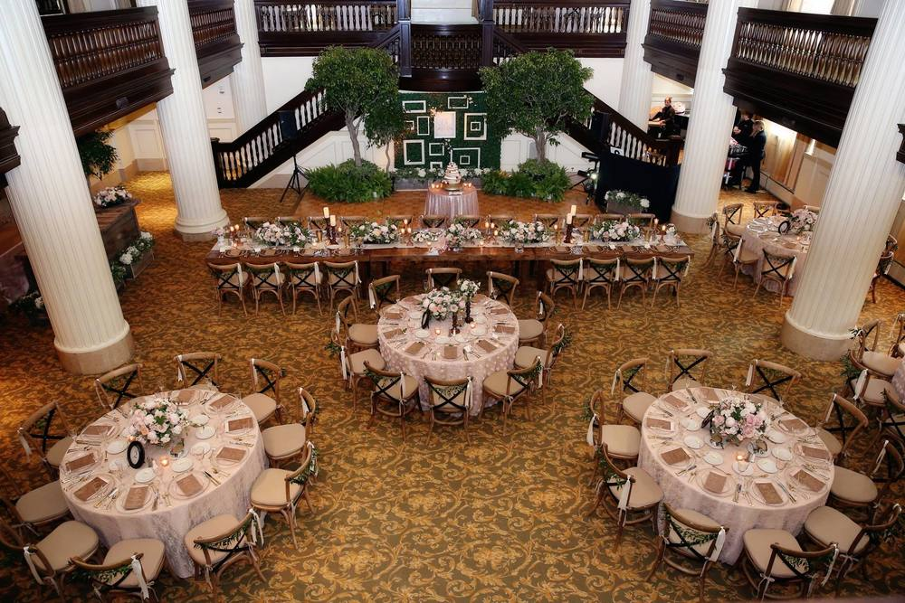 Amway Grand Plaza Ballroom Wedding Decor