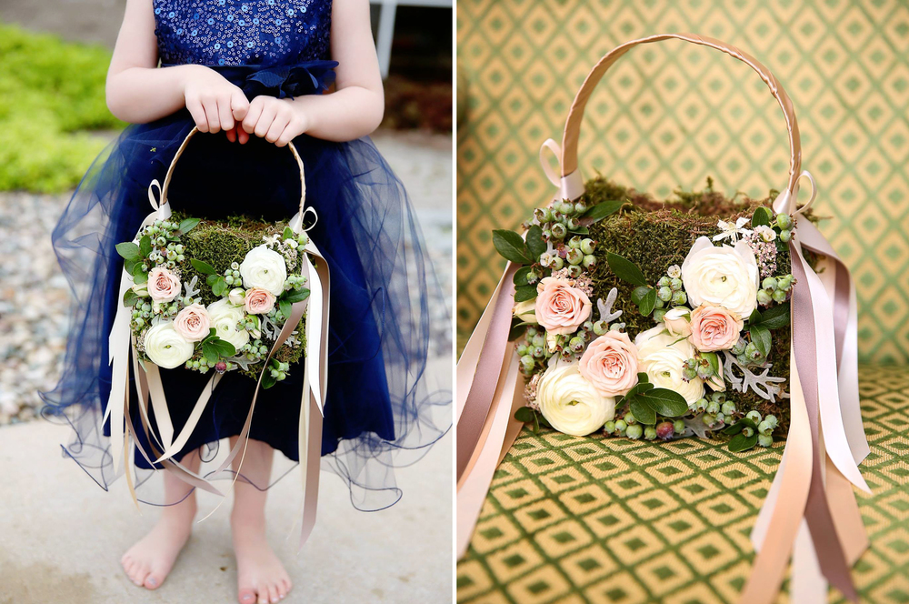 Amway Grand Plaza Wedding Flower Girl Basket Photos