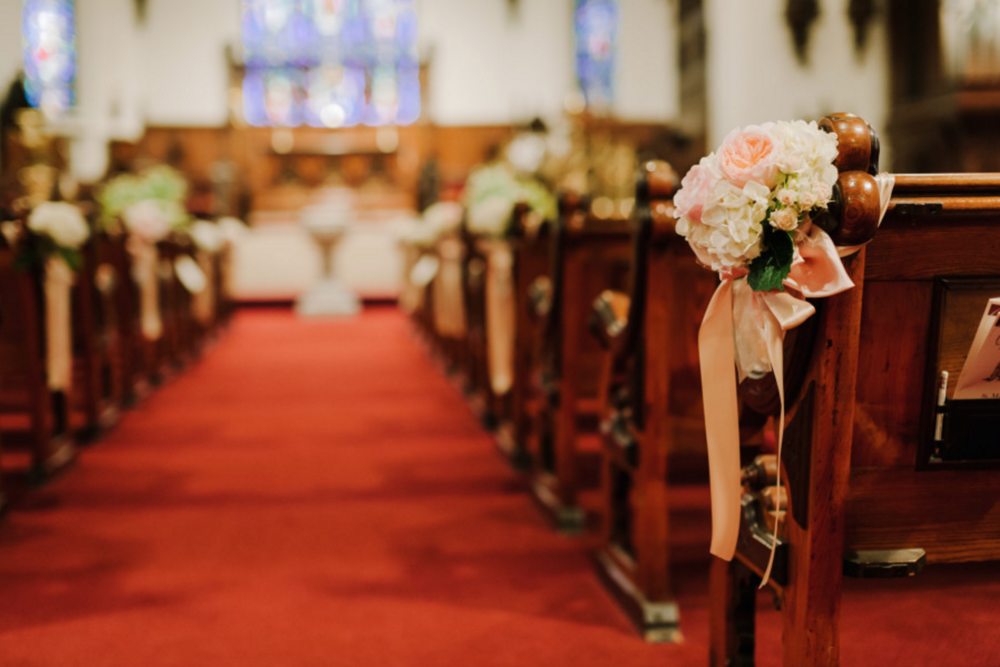 St. Mark's Episcopal Church Wedding Photos