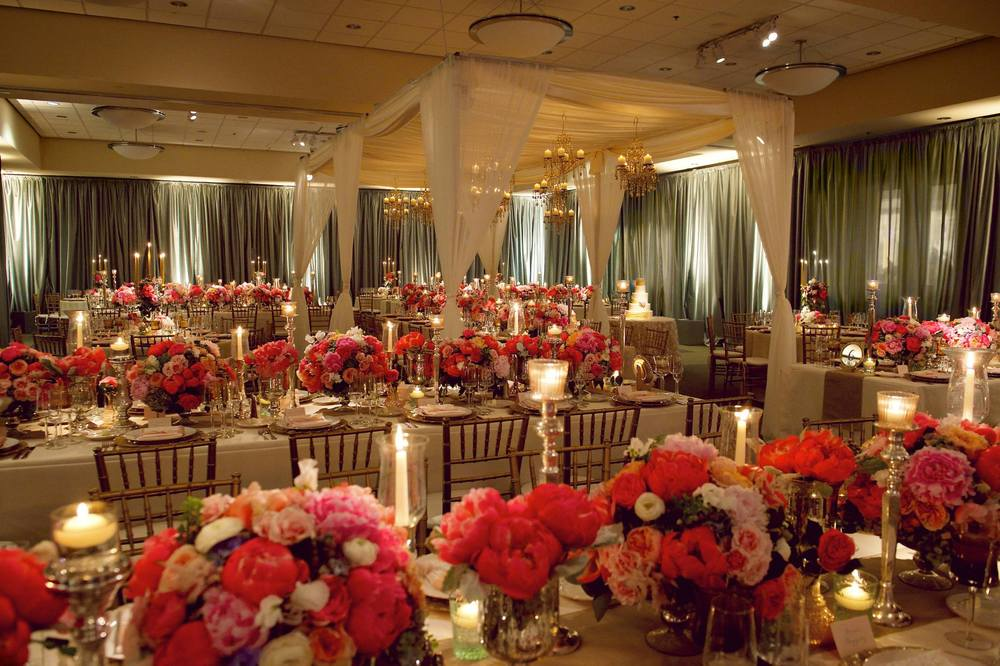 West Michigan Wedding Reception with Indoor Tent