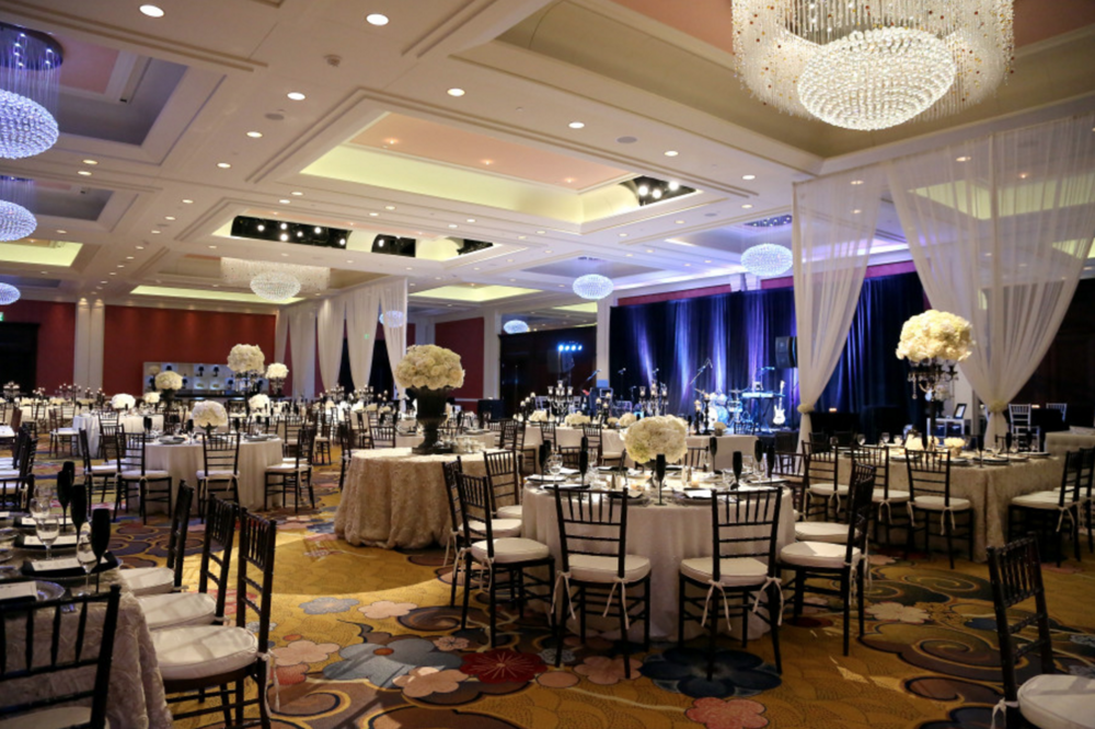 full room layout hotel wedding grand rapids event planner