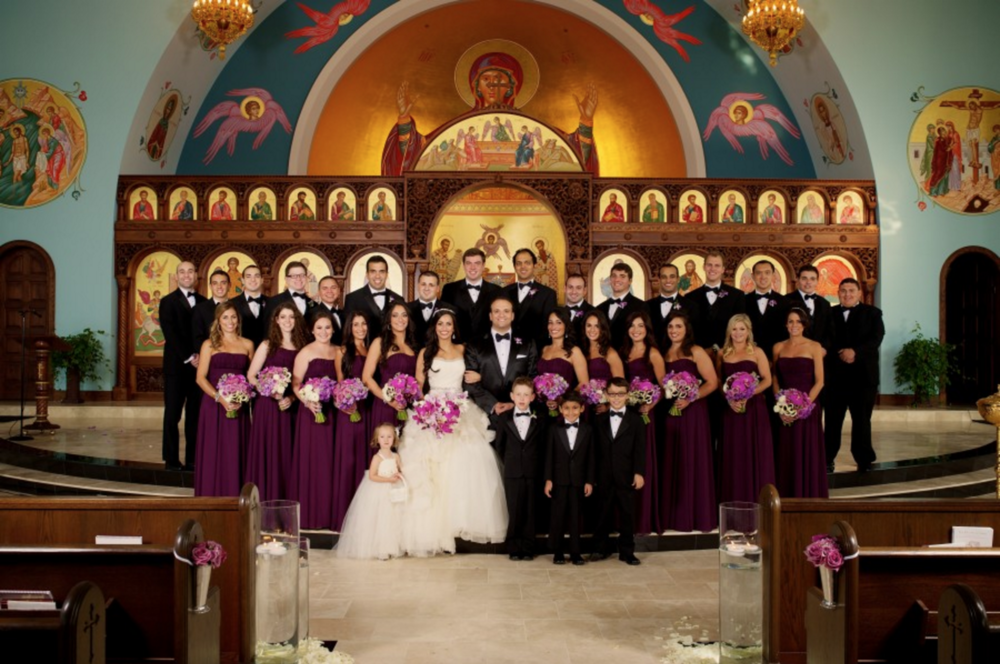 St. Nicholas Antiochian Orthodox Church Bridal Party Photos