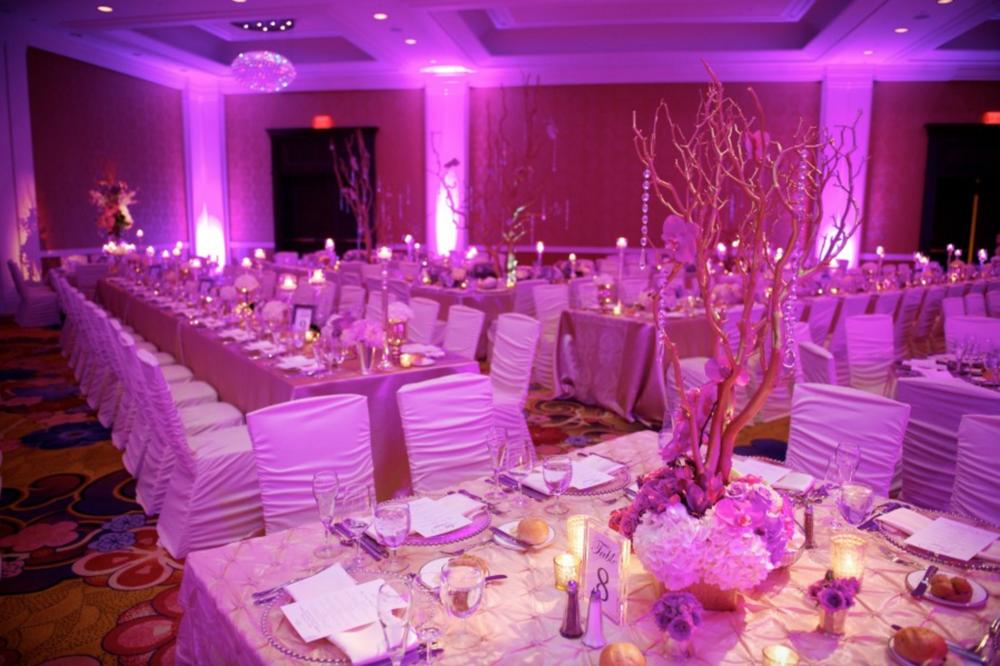 Downtown Grand Rapids Hotel Traditional Ballroom Wedding