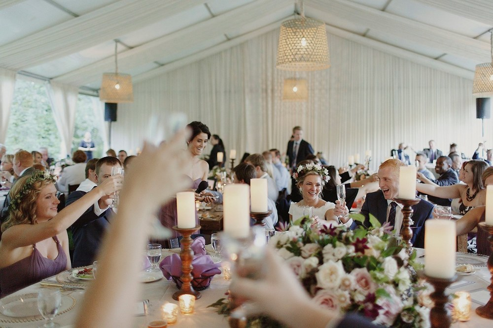 Grand Rapids, Michigan Wedding Reception Photos
