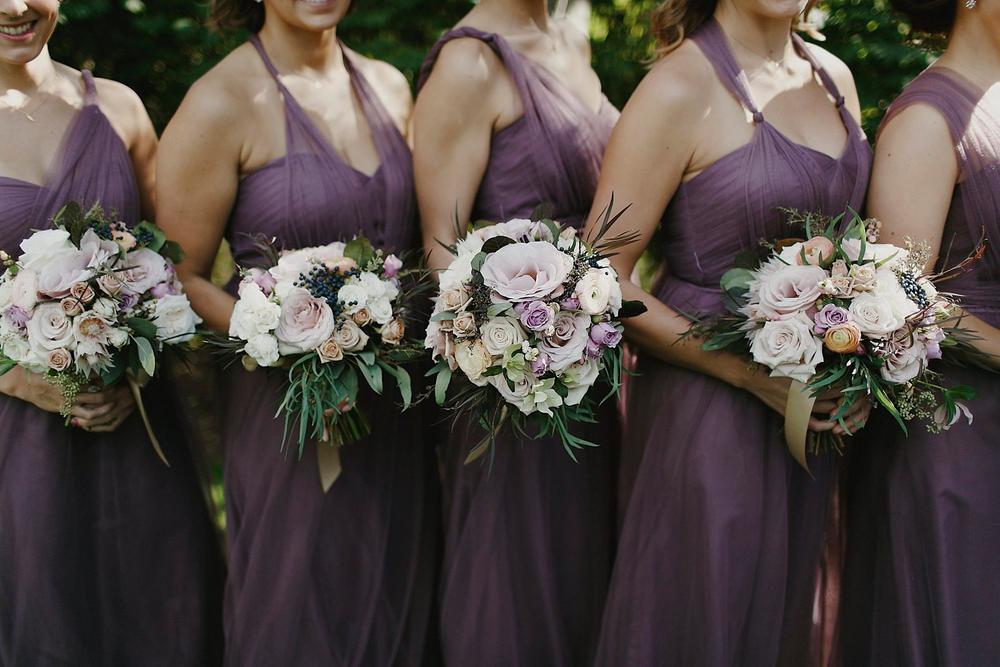 Blythefield Country Club Bridal Party Photos