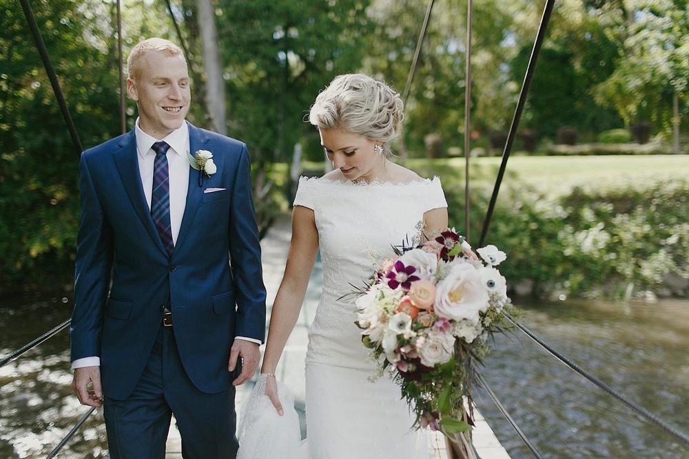 Blythefield Country Club Cute Bride and Groom Photos