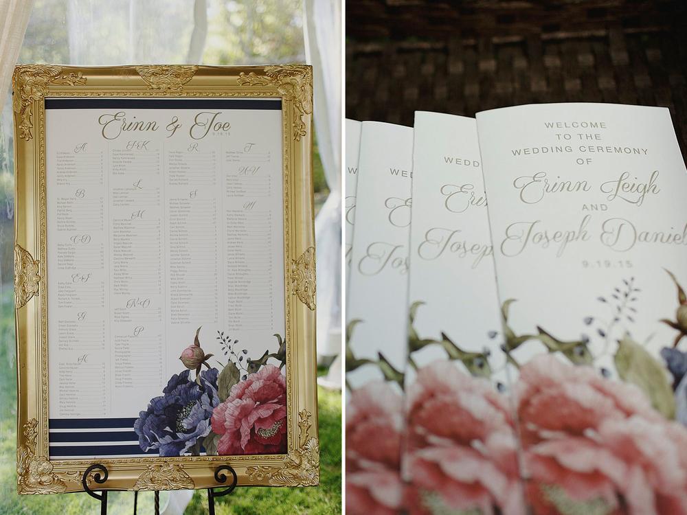 Grand Rapids, Michigan Wedding Custom Invitation