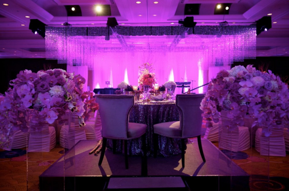 Amway Grand Plaza Wedding Traditional Reception Decor