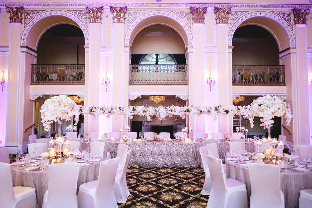 Amway Grand Plaza Hotel Pantlind Ballroom Wedding
