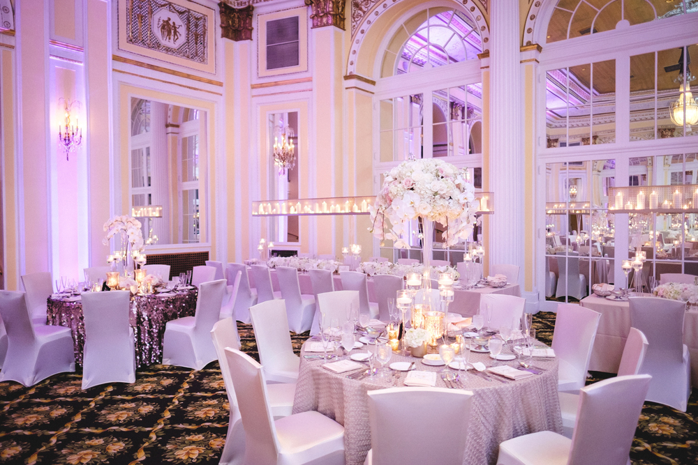 Amway Grand Plaza Hotel Wedding Reception Photos