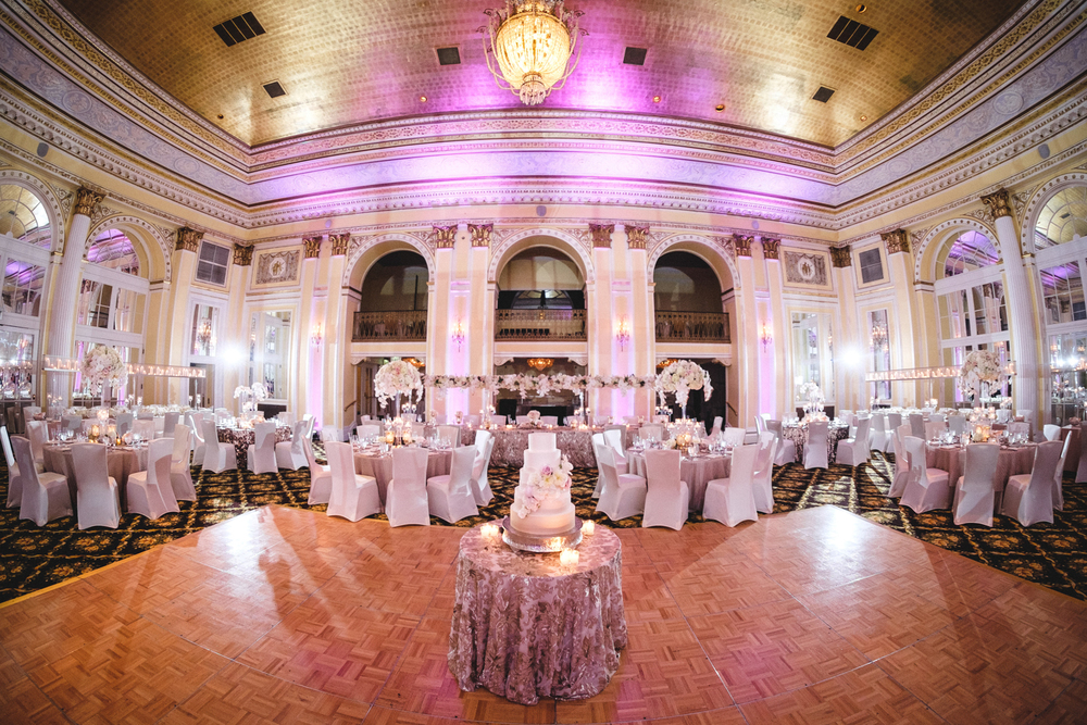 West Michigan Hotel Wedding Beautiful Ballroom