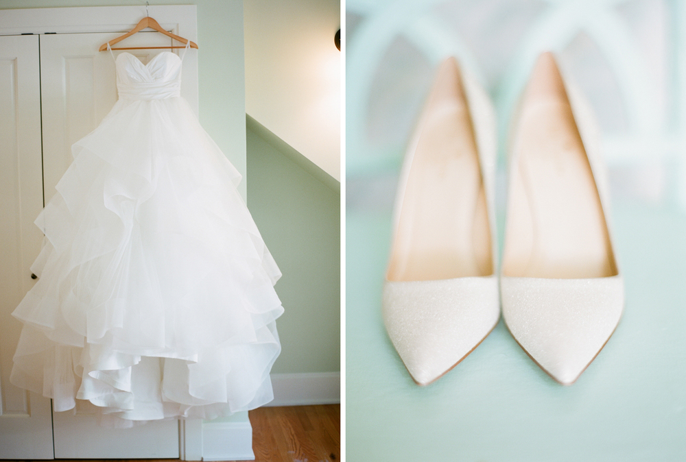 Michigan Wedding with Beautiful White Bridal Details