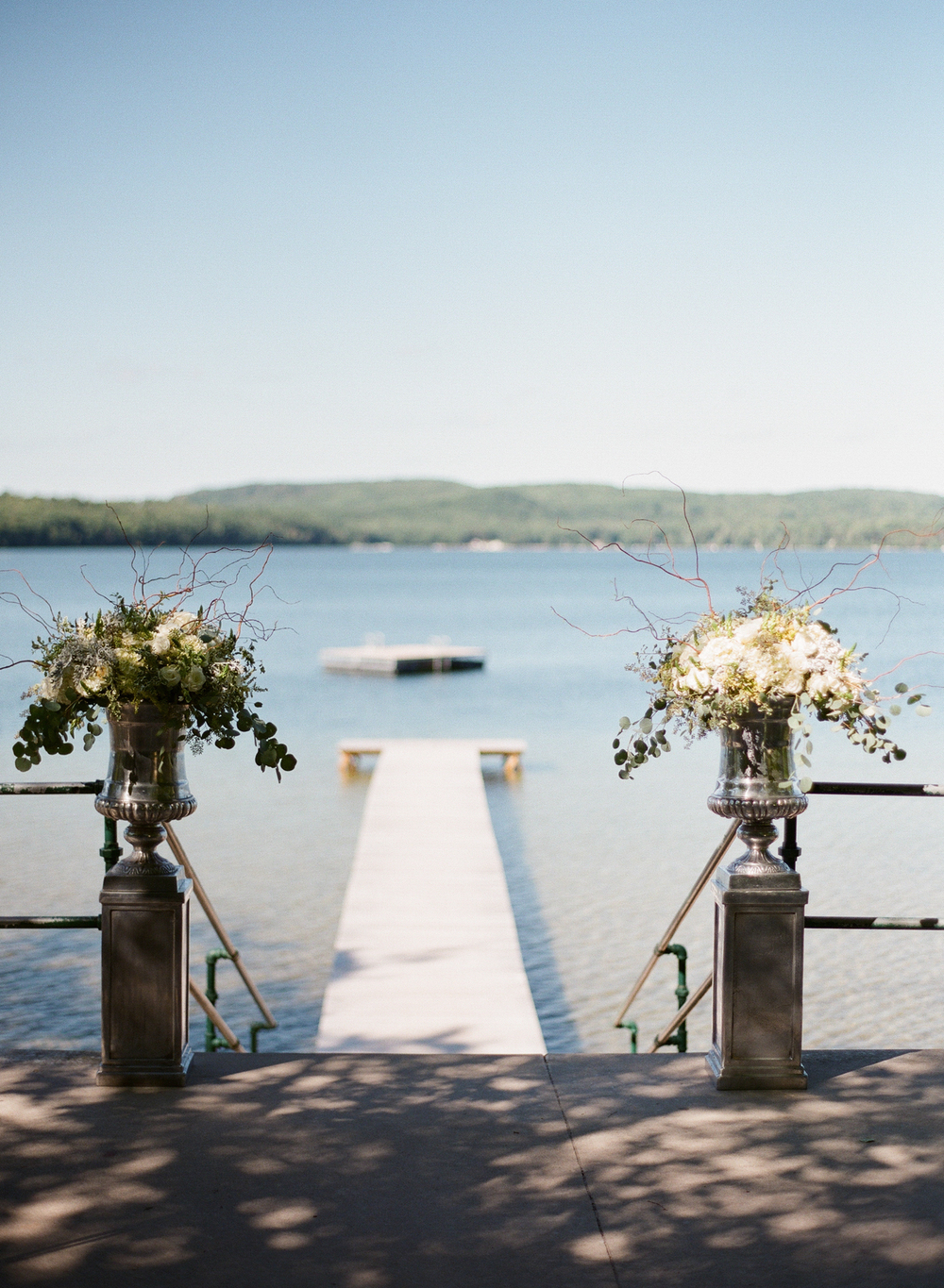 Watervale Inn Outdoor Ceremony by the Lake