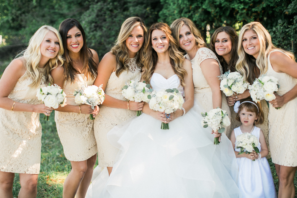 Arcadia, Michigan Wedding Beautiful Bridesmaids Dresses