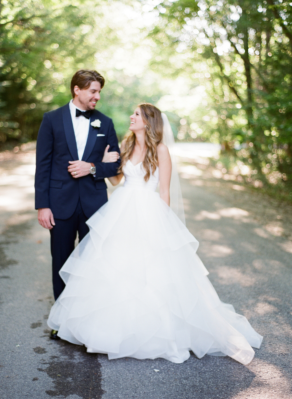 West Michigan Wedding Outside Bride and Groom Photos