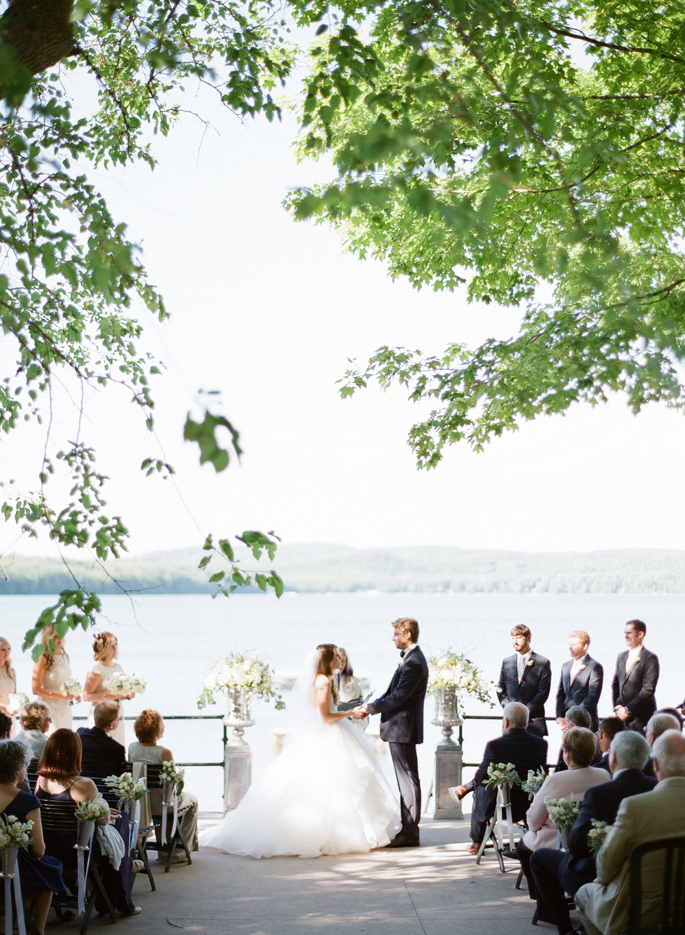 Watervale Inn Summer Wedding on Lake Michigan