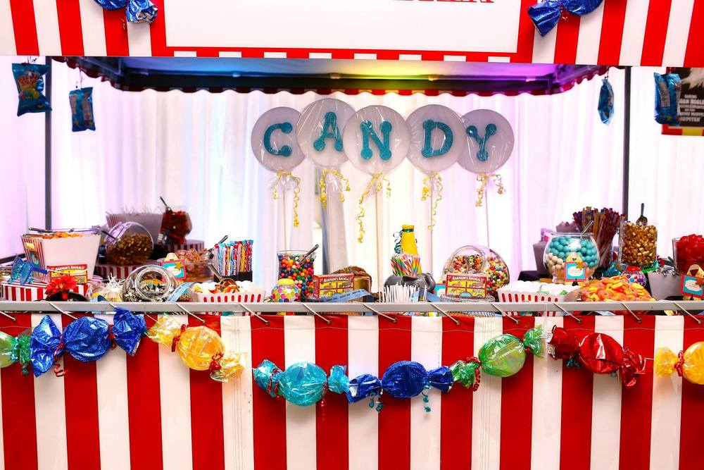 Grand Rapids, Michigan Candy Event Stand