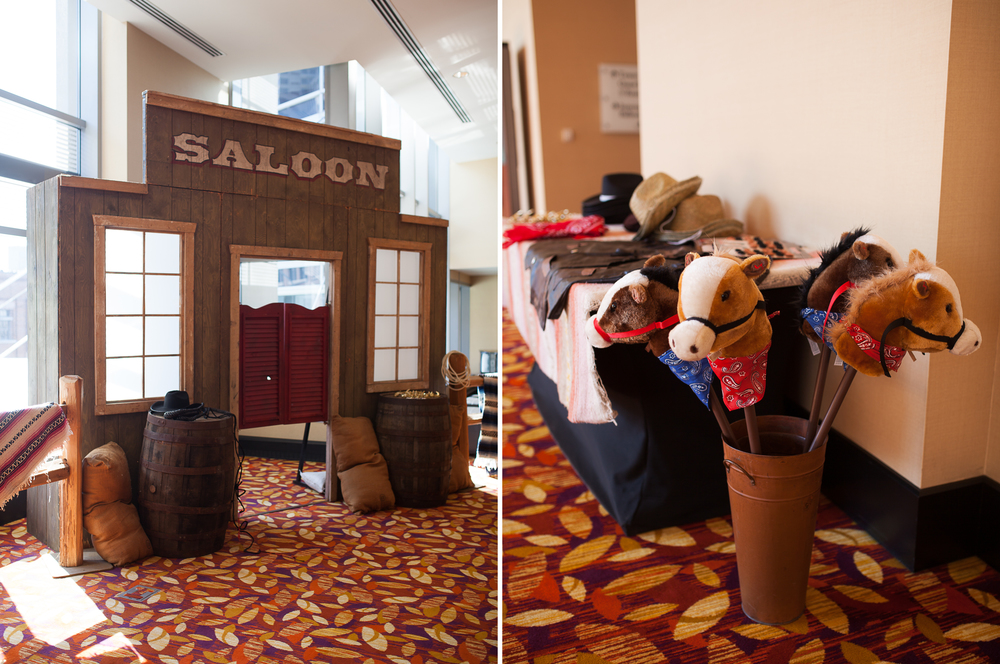JW Marriott Hotel Cowboy Themed Event