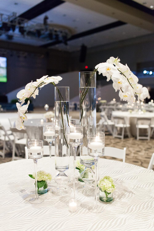 DeVos Place Convention Center Amway New Platinum Event White Florals